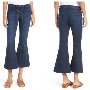 """Frame """"Le Bell"""" crop flare jeans"""